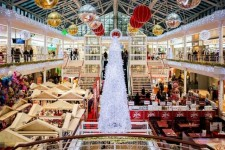 Have You Ever Wondered How The Malls Are Being Dressed Up Before The Holidays?