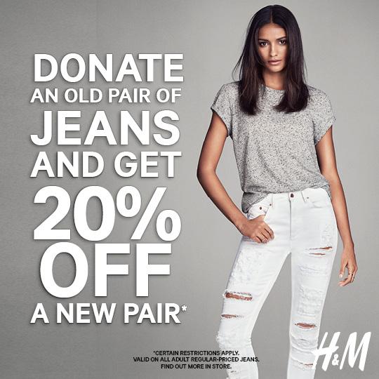 Coupon for: H&M DENIM DEALS