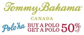 Coupon for: Canada Tommy Bahama, Polo'ha
