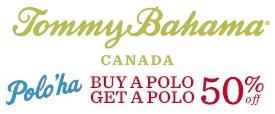 Coupon for: Canada Tommy Bahama, Polo'ha