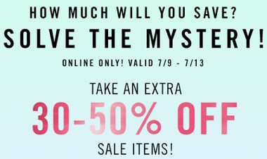 Coupon for: Forever 21 Canada & Mystery Sale