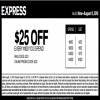 Coupon for: Print sale coupon and save at Express Canada