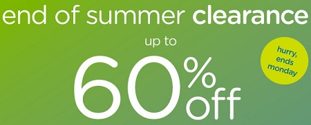 Coupon for: Crocs Canada & End of Summer Clearance event