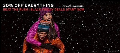 Coupon for: Early Black Friday Sale 2015 from Eddie Bauer Canada