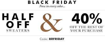 Coupon for: Banana Republic Canada & Black Friday Sale 2015