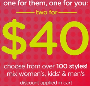 Coupon for: Last day of a great offer from Crocs Canada
