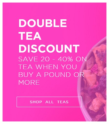 Coupon for: Teavana Canada online Double Tea Discount