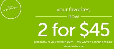 Coupon for: Save money at Crocs Canada online