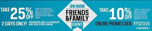 Coupon for: Friends and Family Event is on at Sport Chek Canada