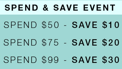Coupon for: More you spend, more you save at Suzy Shier Canada
