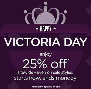 Coupon for: Crocs Canada wishes you Happy Victoria Day