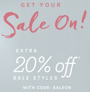 Coupon for: Sale on sale at Naturalizer Canada online