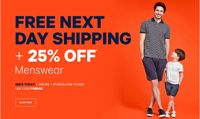 Coupon for: Last day of a special offer from Joe Fresh Canada