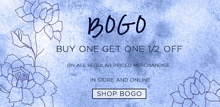 Coupon for: BOGO Sale at Suzy Shier Canada