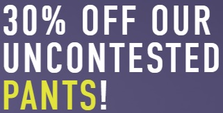 Coupon for: Save on pants at RW&CO. Canada online