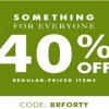 Coupon for: Almost everything on Sale at Banana Republic Canada