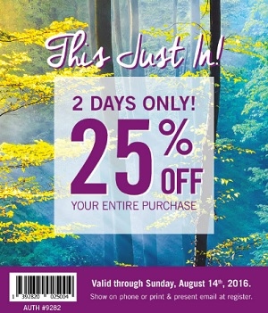 Coupon for: Last day to save at Bath & Body Works Canada