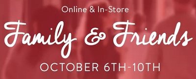 Coupon for: Bench Canada: Family & Friends Sale Event
