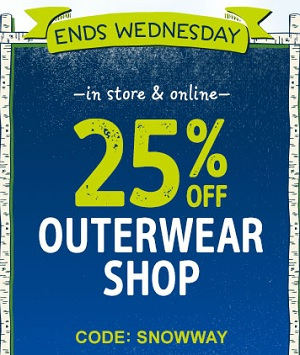 Coupon for: Carter's | OshKosh B'gosh Canada Sale: save money on outerwear & more