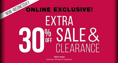 Coupon for: Shop online exclusive sale from La Senza Canada