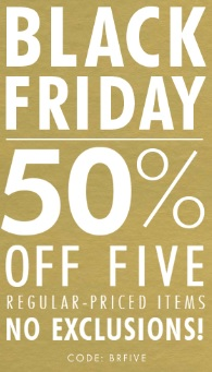 Coupon for: Black Friday Sale is already available at Banana Republic Canada stores and online