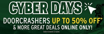 Coupon for: Cyber Days Sale ends today at Atmosphere online