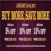 Coupon for: Shop Buy More, Save More Sale at Lowe's Canada