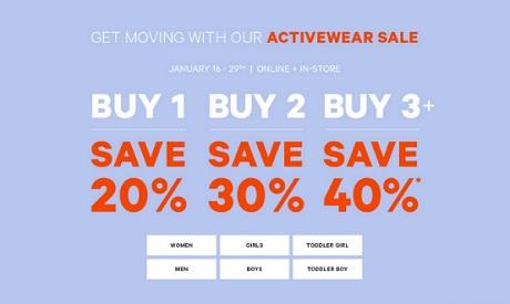 Coupon for: Buy more, save more at Joe Fresh Canada