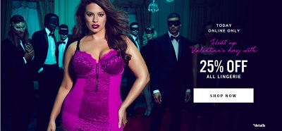 Coupon for: Addition Elle Canada Valentine's Day Sale: Take 25% off