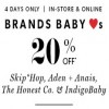 Coupon for: Shop Baby Sale at Indigo Canada