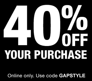 Coupon for: Use Gap Canada online promo code and save money