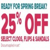 Coupon for: Crocs Canada: Ready for spring break?