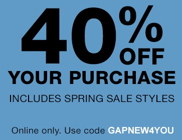 Coupon for: Save money with Gap Canada Promotion Code