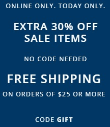 Coupon for: 1 day to save money at Old Navy Canada