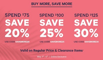 Coupon for: Joe Fresh Canada Offer: Buy More, Save More