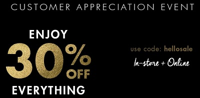 Coupon for: Jean Machine Canada: Shop Customer Appreciation Event
