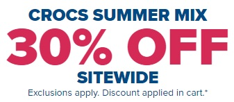 Coupon for: Shop Crocs Canada Summer Mix