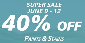 Coupon for: Sherwin Williams Canada: Paint & Stains on Sale