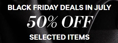 Coupon for: Enjoy Black Frida Sale in July at H&M Canada