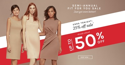 Coupon for: Naturalizer Canada Semi-Annual Sale: Get extra 25% discount