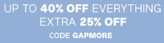 Coupon for: Everything on sale at Gap Canada