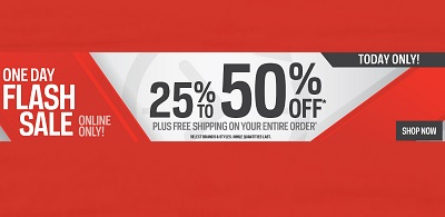 Coupon for: Sport Chek Canada Flash Sale: up to 50% off