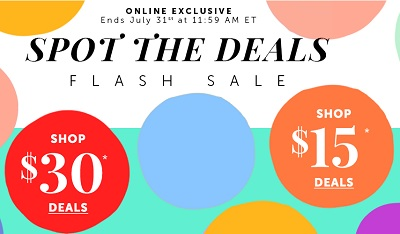 Coupon for: Enjoy Le Chateau Outlet Canada Flash Sale