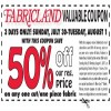 Coupon for: Shop with Fabricland Canada Coupon