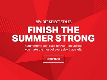 Coupon for: Under Armour Canada: Finish the summer strong