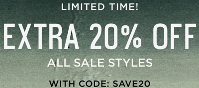 Coupon for: Sale on Sale at Toms Canada