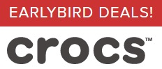 Coupon for: Crocs Canada Early Bird Deal: Selected styles 50% off