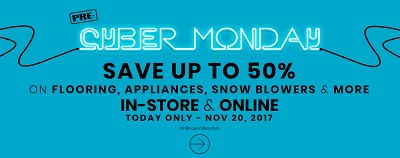 Coupon for: Enjoy Lowe's Canada Pre Black Friday & Cyber Monday Sale