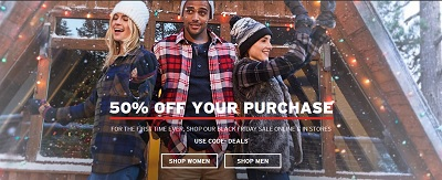 Coupon for: Eddie Bauer Canada Black Friday Sale Starts Now