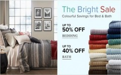 Coupon for: Hudson's Bay Canada: Spring Arrival Sale - 25% off, The Bright Sale - 50% off, Fitness Sale - 25% off